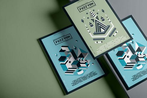 Fuzz'Yon - communication - Design & graphisme