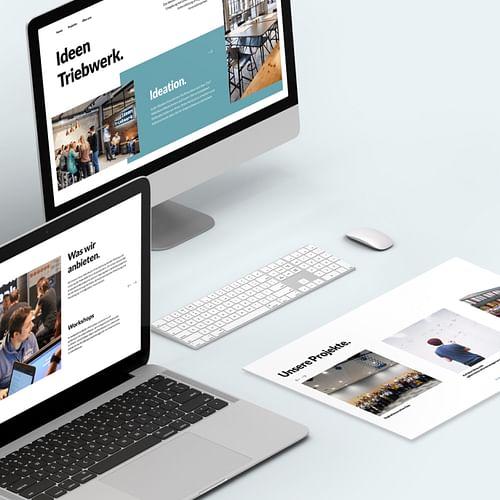 Das Ideentriebwerk (Fraunhofer IEM) - Webseitengestaltung