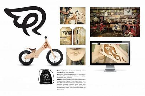 EARLY RIDER IDENTITY - Graphic Design