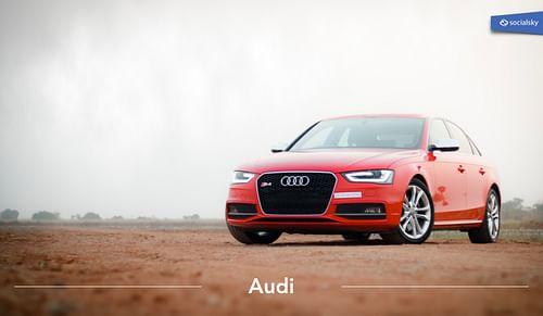 Audi - Réseaux sociaux