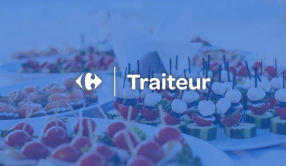 Carrefour Traiteur : site e-commerce