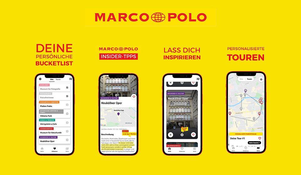 Digitalstrategie für Marco Polo Reiseführer