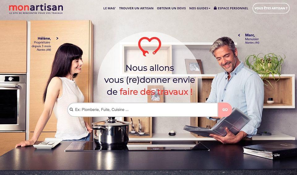 Création de plateforme  : Le Bon Artisan.fr