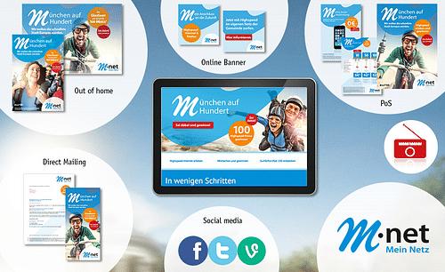 M-net Etatbetreuung als Leadagentur - Motion-Design