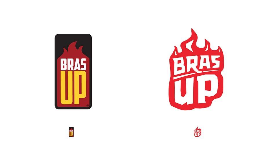 BrasUP rebrand and packaging design