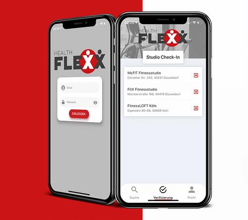 HealthFlexx | Digitale Mitgliedschaft - Mobile App