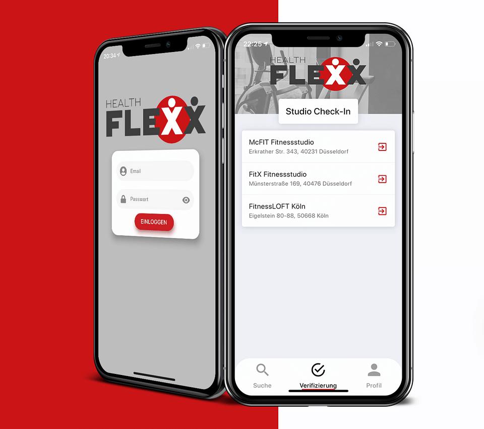 HealthFlexx | Digitale Mitgliedschaft