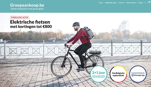 Marketing campagne over e-bikes - Online Advertising