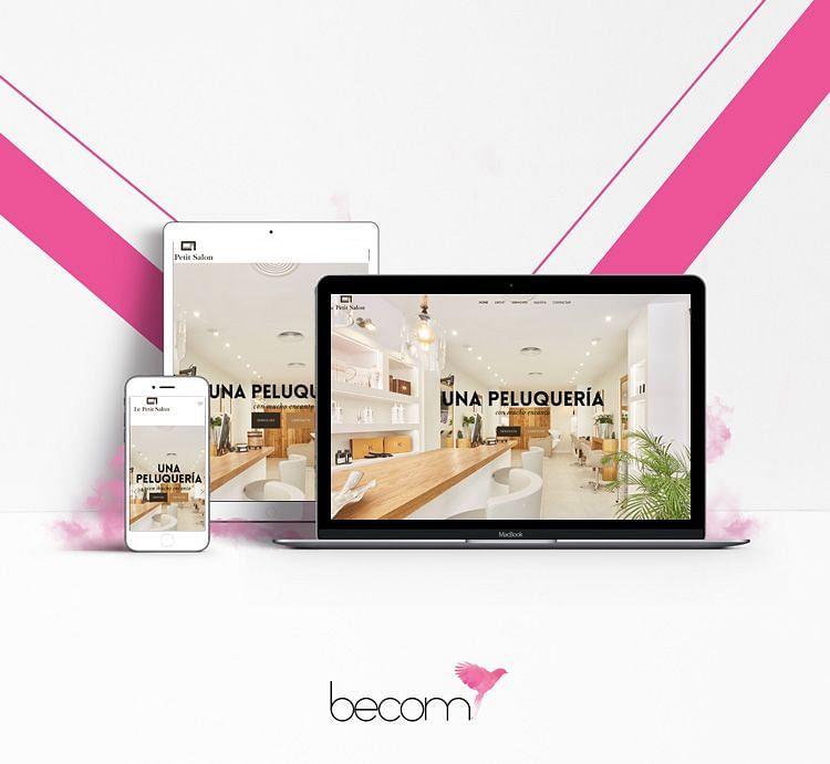 Fotografía y diseño de página web