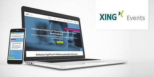 XING Events - Webanwendung