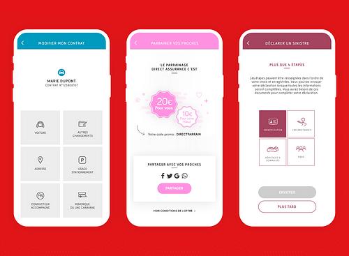 Direct Assurance, un accompagnement mobile complet - Création de site internet