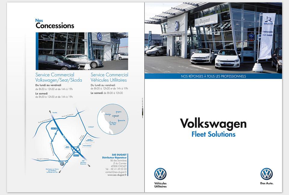 Plaquette Volkswagen Cholet