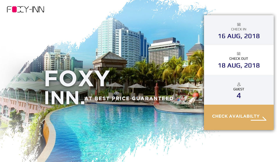 Foxy-Inn(Hotel Website)
