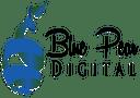 Blue pear Digital logo