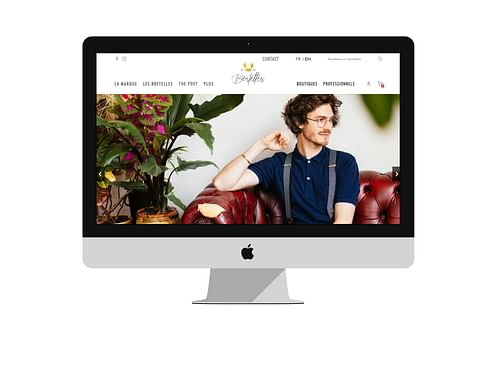 E-commerce for Bertelles - E-commerce