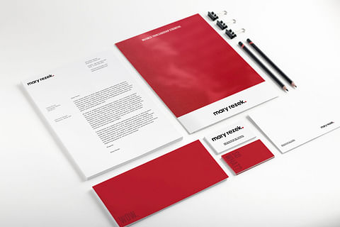 Brand Identity and Global Content for Mary Rezek