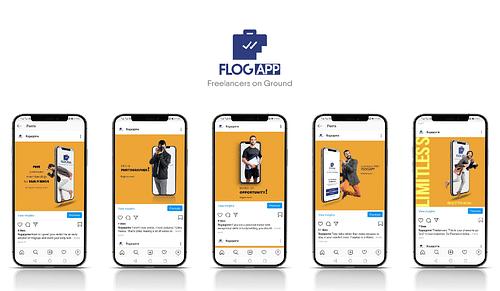 FlogApp Social Media Management - Social Media