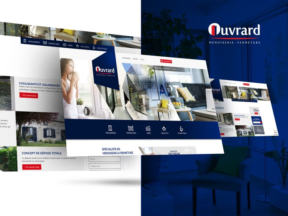 Site web Ouvrard