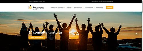 Recovery Centro - Creación de Sitios Web