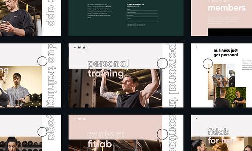 Branding en digital voor fitlab - Branding & Positionering