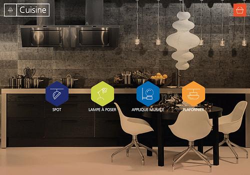 Lampe connectée - EDF - Stratégie digitale