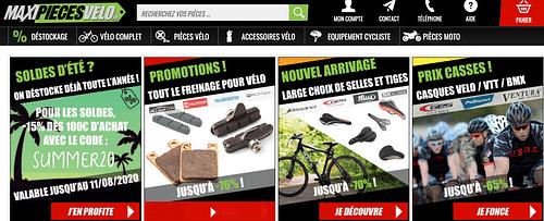 Ventes de pièces de vélo en ecommerce - Référencement naturel