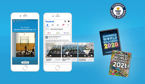 Guinness World Records – Social Media Kampagne - Werbung