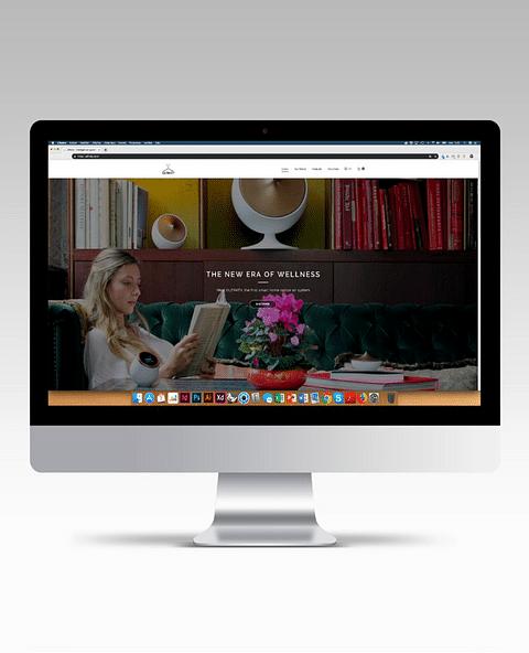 Site internet pour Olfinity