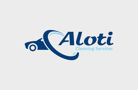 Logo Design for Aloti Cleaning Services