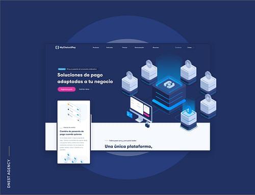 MyChoice2Pay Redesign - Estrategia digital