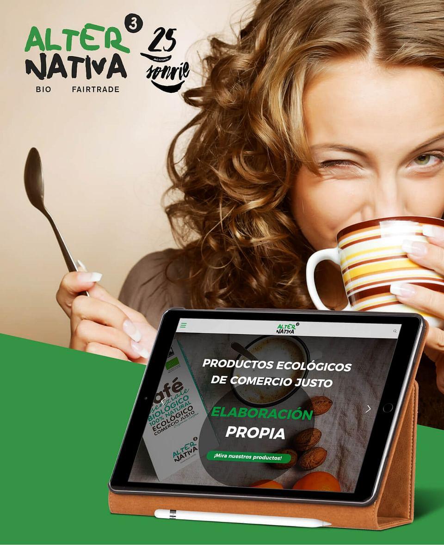 Productos ecológicos - fair trade: Alternativa3