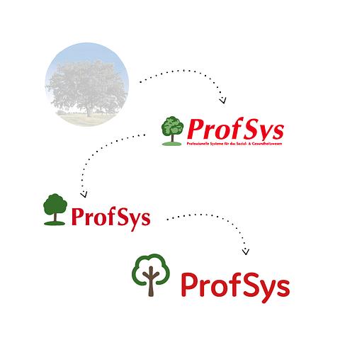 ProfSys Logo- & Brand-Redesign