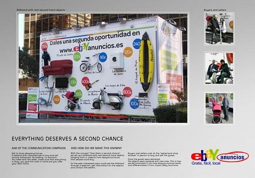 ebay - GIVE THEM A SECOND CHANCE - Publicidad