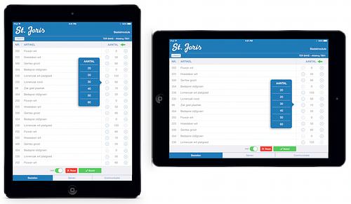 St.Joris mobiele applicatie (B2B) - Mobile App