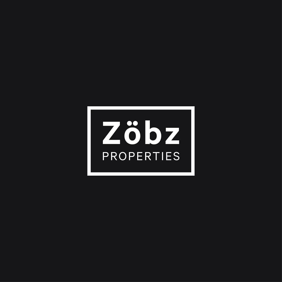 Logotipo para inmobiliaria Zobz