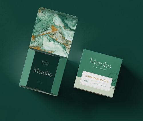 Een branding die zintuigen prikkelt voor Meroho. - Branding & Positionering