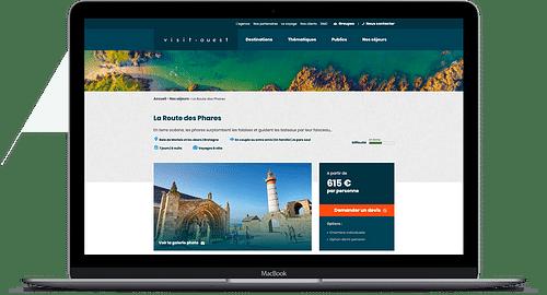 Refonte d'un site internet de voyage - E-commerce