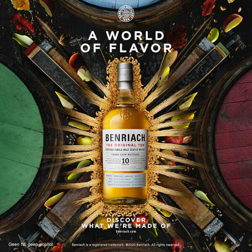 Branding campagnes Benriach en Jura - Branding & Positionering