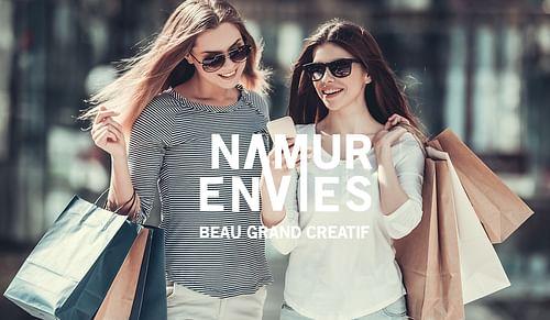 """Activation - Event  """"Namur Envies"""" - Création de site internet"""