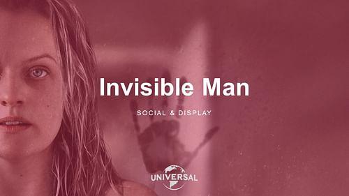 Invisible Man - Social & Display - Réseaux sociaux
