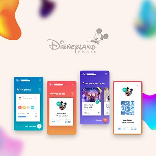Disneyland Paris - Half Marathon - Création de site internet
