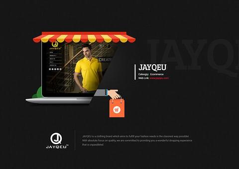 Ecomerce Website Design for Jayqeu