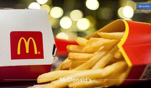 McDonald's - Réseaux sociaux