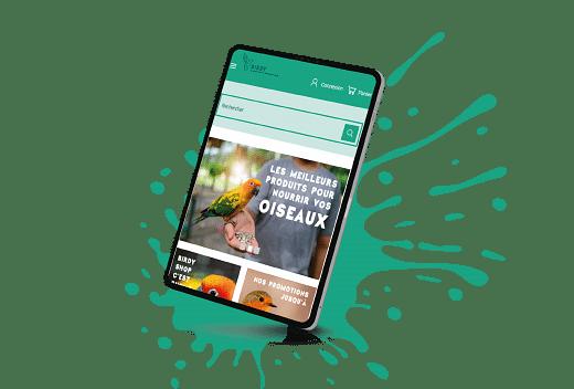 Création Webshop produits animaliers