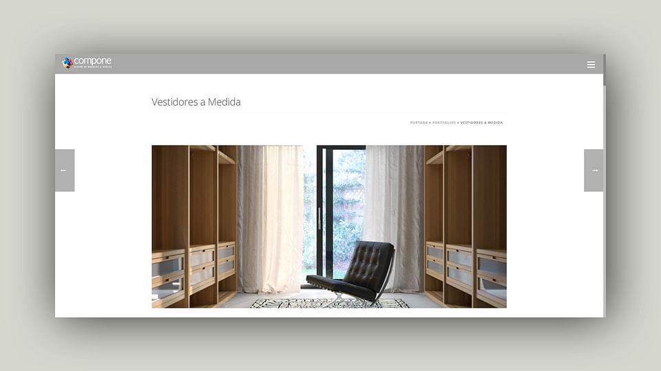 Diseño Web para Empresa de Mobiliario a Medida