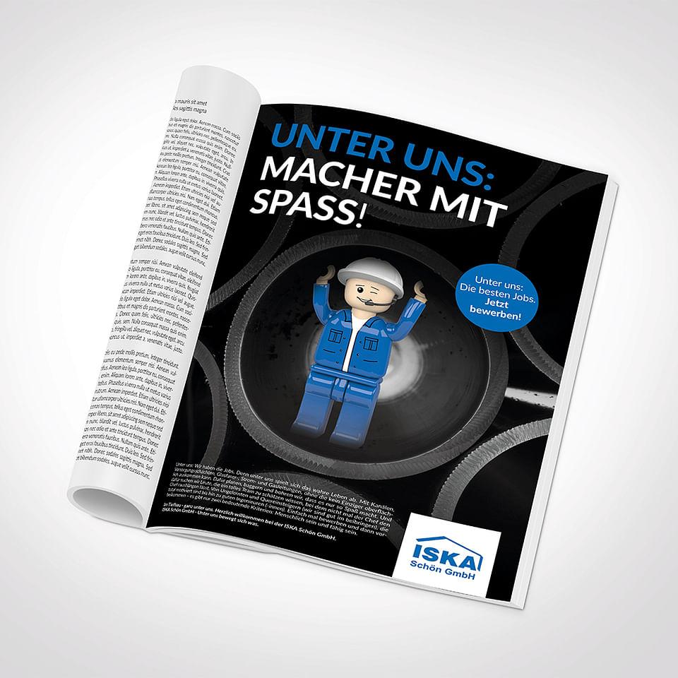 ISKA Schön Anzeige