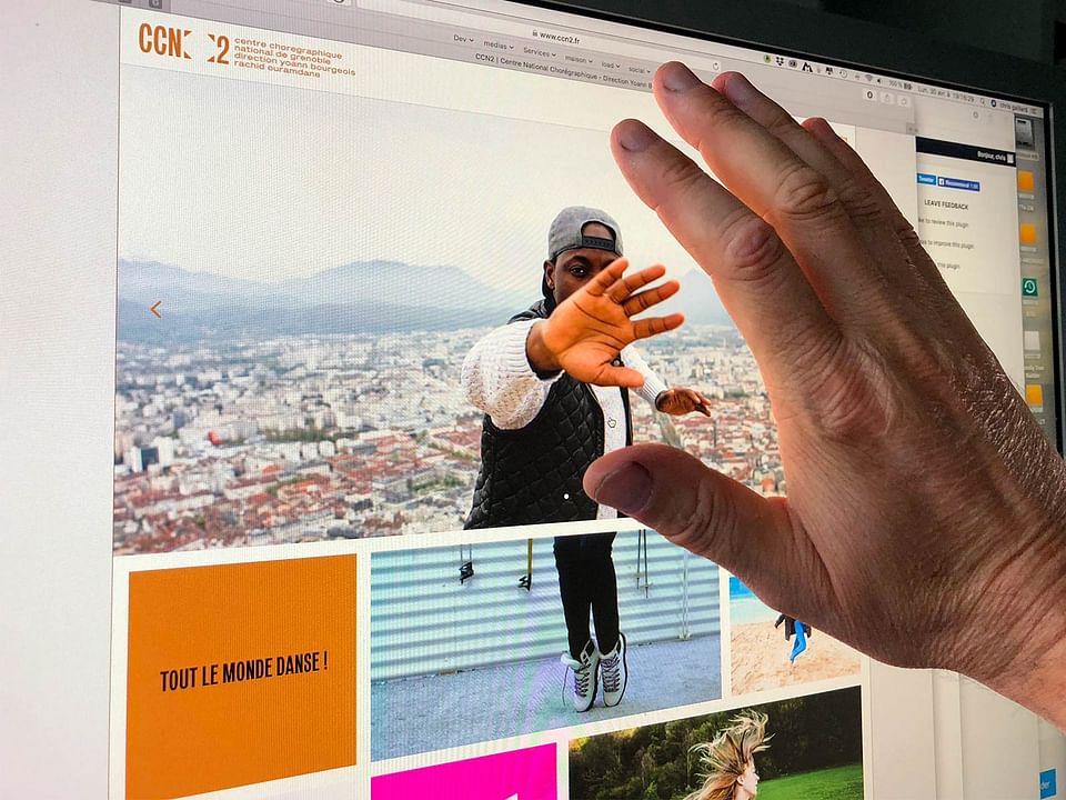 Création du site Web d'un Centre Chorégraphique