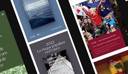 Refonte complète d'un site internet de Fondation - Application web