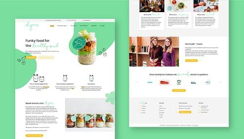DJAR website, order platform & digital marketing - Website Creatie