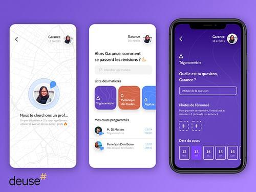 Application mobile de cours en ligne - Mobile App